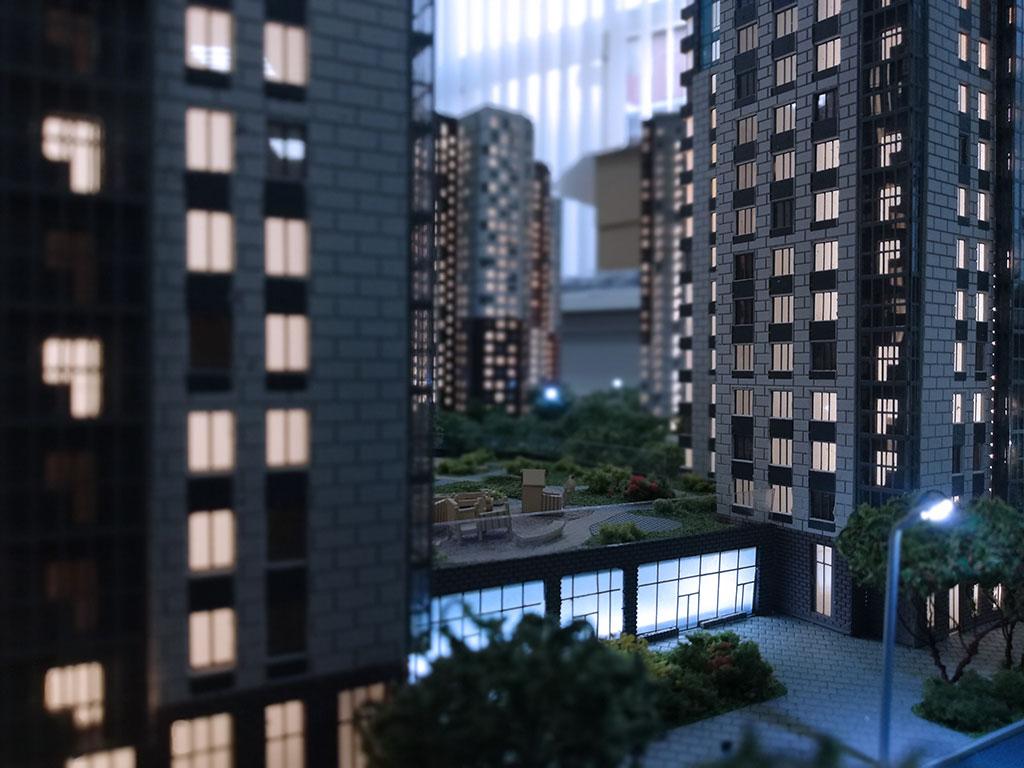 modello architettonico