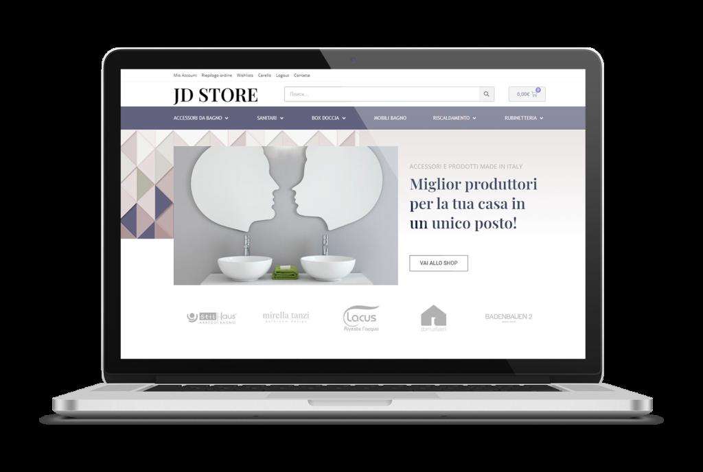creazione e-commerce jd store
