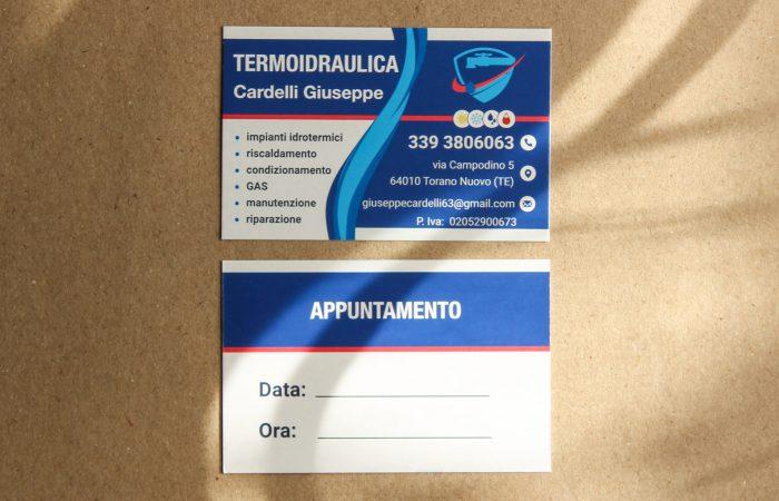 biglietto da visita termo-idraulica